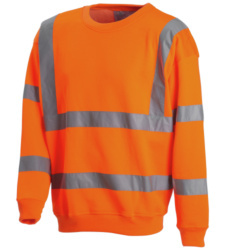 Photo de Sweat haute visibilité Flash orange fluo