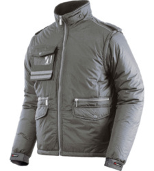 Winterjacke Fighter grau