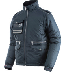 Winterjacke Fighter blau