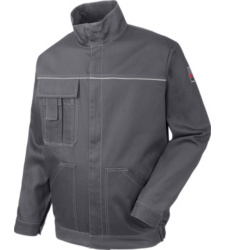 Photo de Veste de travail Basic Reflex grise