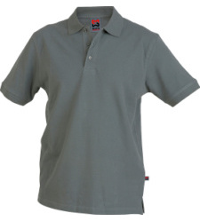 Poloshirt grau für Schweißer