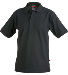 Poloshirt schwarz für Mechaniker