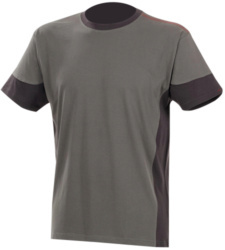 Photo de Tee-shirt de travail Fit gris/anthracite