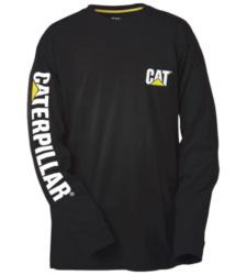Foto van Lange mouwen T-Shirt Caterpillar 1510034BK