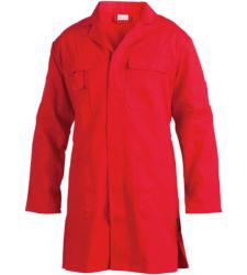 Foto von Arbeitskittel Die Leichte rot