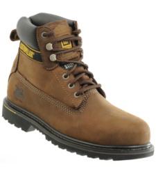 Photo de Chaussures de sécurité Caterpillar Holton S3 HRO brown