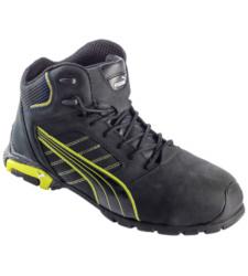 Photo de Chaussures de sécurité Montantes Puma Amsterdam S3 SRC noires/jaunes