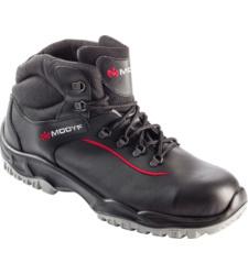 Zwarte comfortabele veiligheidslaarzen S3