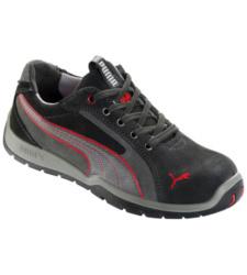 Photo de Chaussures de sécurité S1P SRC HRO Motorsport Puma noires/grises/rouges