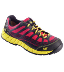 Photo de Chaussures de sécurité Caterpillar Streamline S1P rouges