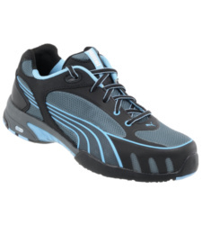 Photo de Chaussures de sécurité femme Puma Fuse Motion blue S1 SRC HRO