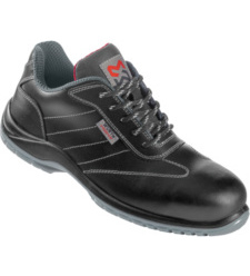 Chaussure de sécurité en cuir noir S3