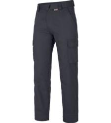 Pantalone blu invernale con cerniera YKK