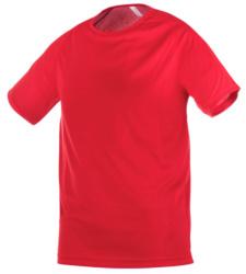 T-shirt rosso tecnica