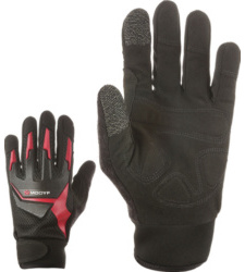 Photo de Gants de travail One noirs/gris/rouges