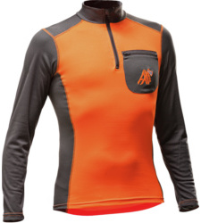 Foto von Funktions Langarmshirt AX MEN orange grau