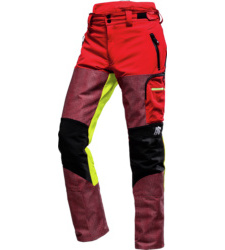 Foto von Schnittschutz Bundhose AX-Men Defender Pro 87 cm rot