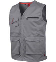 Photo de Gilet de travail sans manches Stretch X Würth MODYF gris