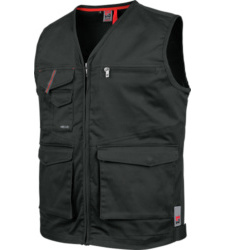 Photo de Gilet de travail sans manches Stretch X Würth MODYF anthracite