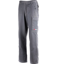 Photo de Pantalon de travail Basic Reflex gris