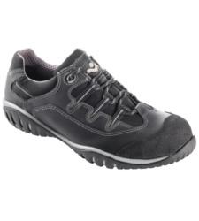 Chaussure de travail noire pour sanitaires