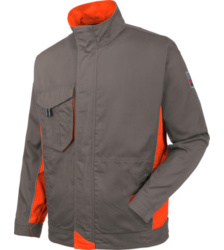 Photo de Veste de travail Star Line grise/orange