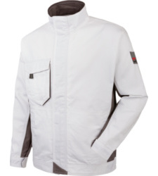 Photo de Veste de travail Star Line blanche/grise