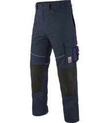 Photo de Pantalon de travail Star Line Plus marine/bleu royal