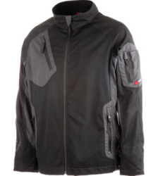 Bundjacke schwarz für Metallbau, modern & praktisch, hochfunktionell und elastische, robustes Material