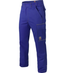 Photo de Pantalon de travail Basic Reflex bleu royal