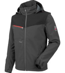 foto di Softshell Stretch X antracite