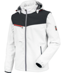foto di Softshell Stretch X bianco