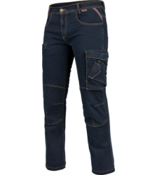 Foto von Arbeitsjeans Multipocket Stretch X blau