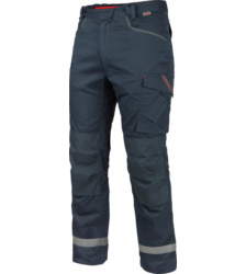 Photo de Pantalon de travail thermique Stretch X Würth MODYF bleu