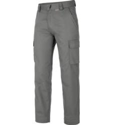 graue Winterhose mit YKK-Reißverschluss