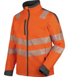Foto von Warnschutz Softshelljacke Neon EN 20471 3 orange anthrazit
