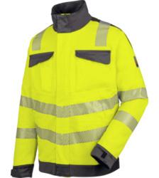 Foto van High visibility werkjack EN 20471 3 Neon Würth MODYF, geel antraciet