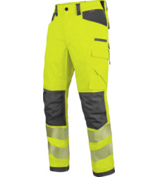 Foto van High visibility werkbroek EN 20471 2 Neon Würth MODYF, geel antraciet