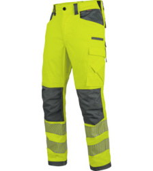 Photo de Pantalon de travail hiver EN 20471 2 Neon Würth MODYF jaune/anthracite