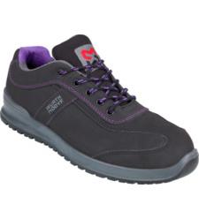 Photo de Chaussures de sécurité femmes Carina S3 Würth MODYF noires/violettes