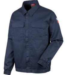 Photo de Veste de travail Soudeur EN 11611, EN 11612 Würth MODYF Marine