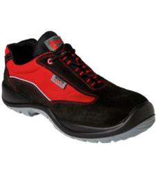 Foto de Zapato de seguridad S1P Light II Negro/Rojo