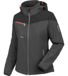 Photo de Softshell de travail femme Stretch X Würth MODYF anthracite