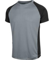 Foto van T-shirt Dry Tech Würth MODYF, grijs/zwart