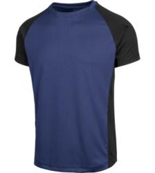 Foto van T-shirt Dry Tech Würth MODYF, marine/zwart