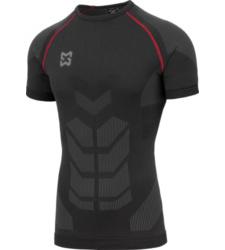 Foto von Unterwäsche T-Shirt Basic schwarz rot