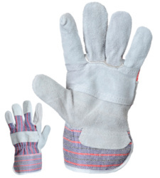 Photo de 12 paires de gants Dockers croûte de bovin