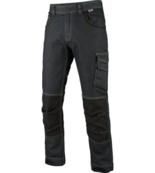Photo de Jean de travail Cordura Sagittarius Würth MODYF Denim Noir