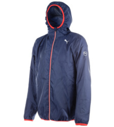 foto di Giacca solid Windbreaker bluette