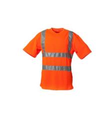 Foto von Warnschutz PLA T-Shirt orange
